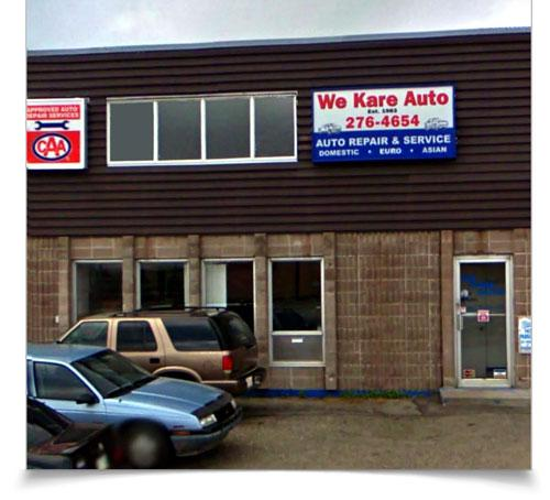 We Kare Automotive - Shop